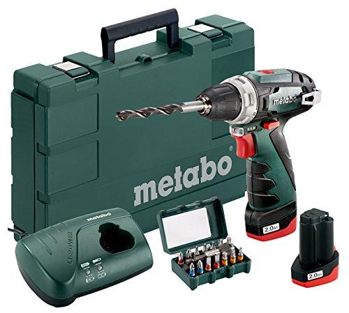 Metabo 600080920 Akku-Bohrschrauber klein...