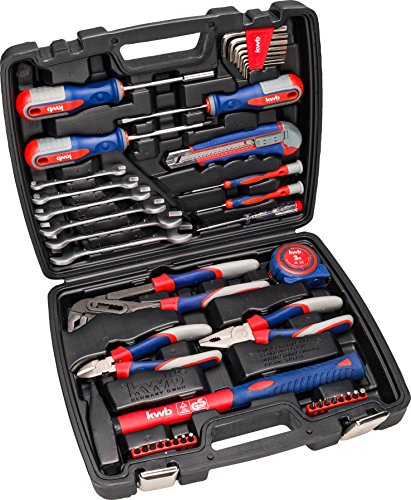 kwb Werkzeug-Koffer inkl. Werkzeug-Set,...