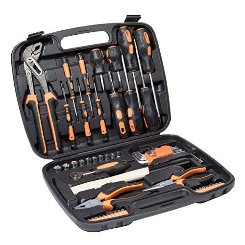 57 tlg Werkzeugkoffer mit Werkzeug Set...
