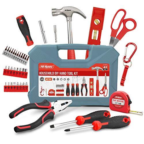 Hi-Spec 42-teiliges Werkzeug DIY Kit mit...