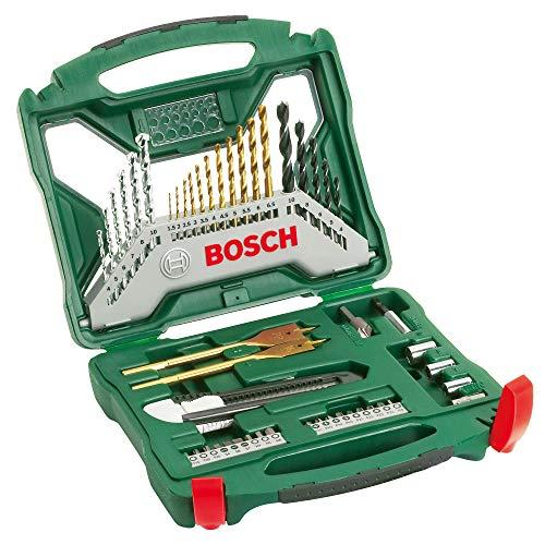 Bosch 50tlg. X-Line Titanium-Bohrer und...