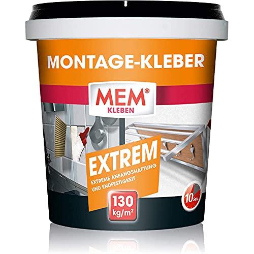 MEM Montage-Kleber Extrem, Pastöser...