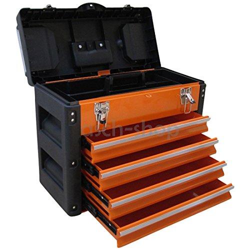 METALL Werkzeugkiste mit 8 Funktionen 3061BB...