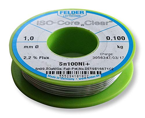 Felder FCL100100Ni+ Lötzinn ISO-Core...