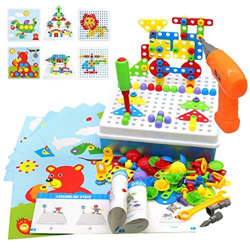 Akokie Steckspiel Montessori Spielzeug mit...