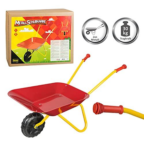 Idena 7131707 - Metallschubkarre für Kinder...