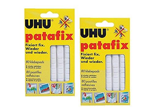 2 x UHU patafix weiß, wieder ablösbare...