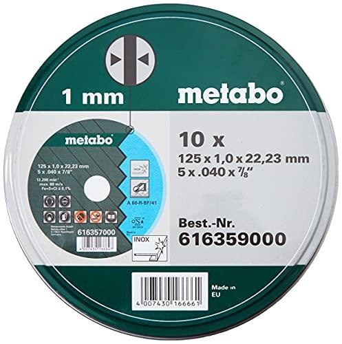Metabo Promotion Trennscheiben 125x1,0x22,23...