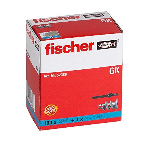 fischer Gipskartondübel GK, starker...