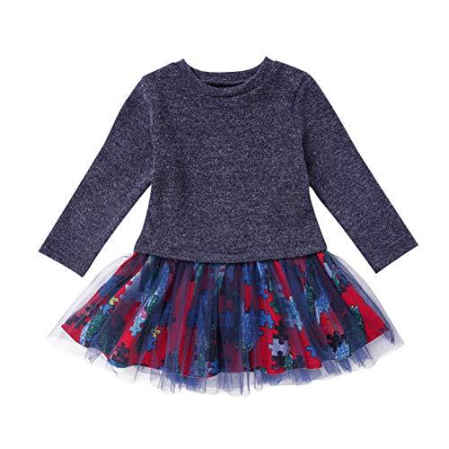 Baby Mädchen Kleid 1-6 Jahre Gaze Tutu...