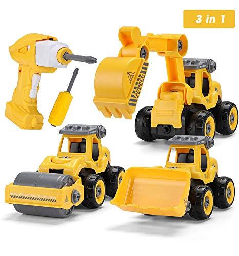 Sundaymot Montage Bagger Spielzeug -...