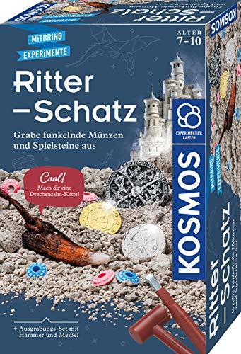 KOSMOS Ritter-Schatz, Grabe funkelnde Münzen...