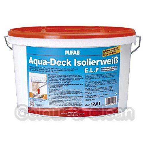 Pufas Aqua-Deck Isolierweiß E.L.F. 12,5L...