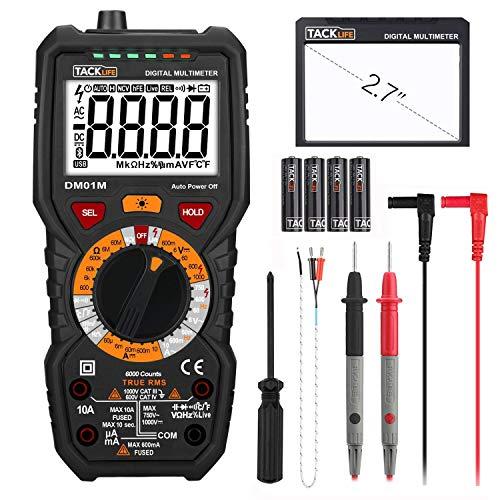 Digital Multimeter, Tacklife DM01M Advanced...