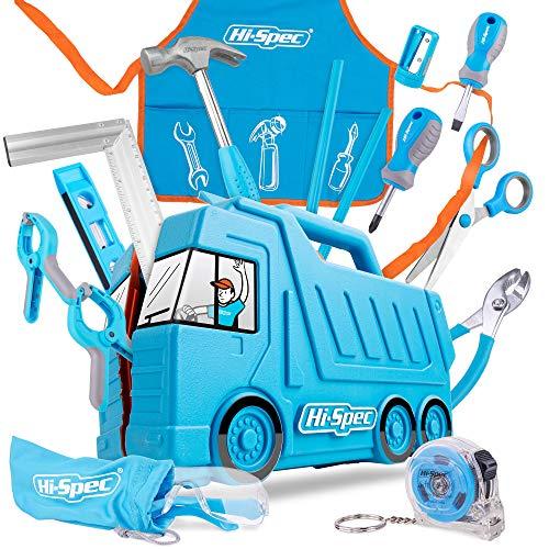 Hi-Spec 17 tlg. Kinder Werkzeugset mit LKW...
