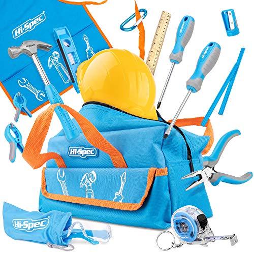 Hi-Spec 18-teiliges Kinder-Werkzeugset mit...