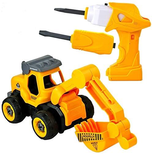 Montage Bagger Spielzeug - Elektrisches...