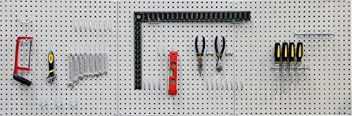 Seville Classics Werkzeug Lochwand, 182.9 x...