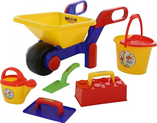 Wader Quality Toys Schubkarre mit...