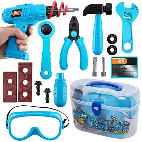 HERSITY Werkzeugkoffer Kinder Werkzeug...