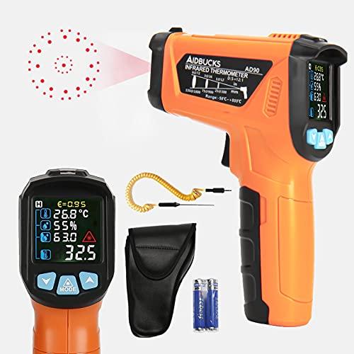 AIDBUCKS AD90 Infrarot Thermometer -50°C bis...