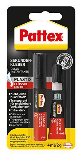 Pattex Plastix Sekundenkleber Tube 4ml/2g...