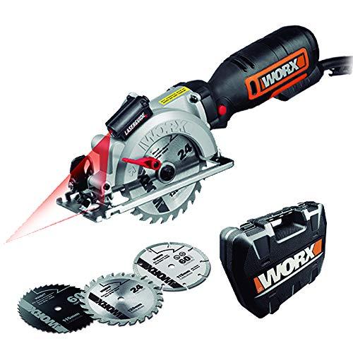 Worx WX427 Handkreissäge Worxsaw XL, 710W...