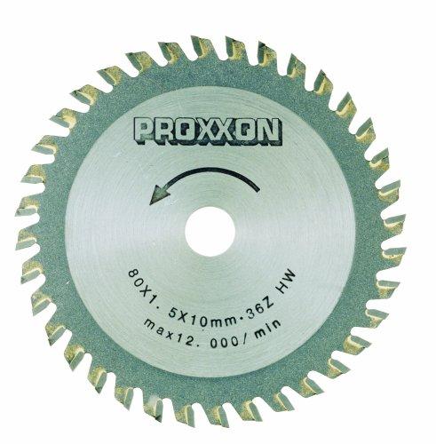 Proxxon Kreissägeblatt, HM-bestückt, 80 mm,...