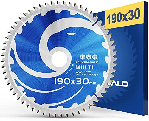 FALKENWALD ® Kreissägeblatt 190x30 mm für...