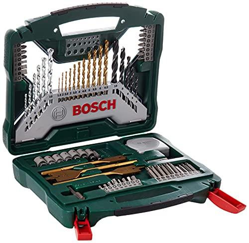 Bosch 70tlg. X-Line Titanium-Bohrer und...