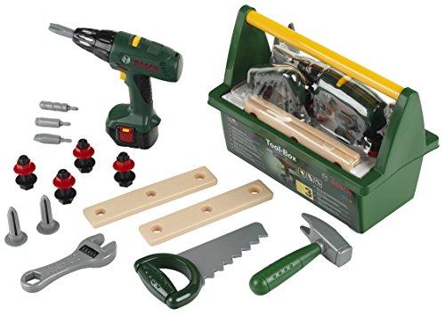 Theo Klein 8429 Bosch Werkzeug-Box I Mit...