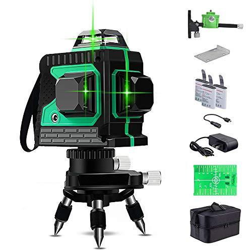 Laser Wasserwaagen 25M, Kreuzlinienlaser 3 x...
