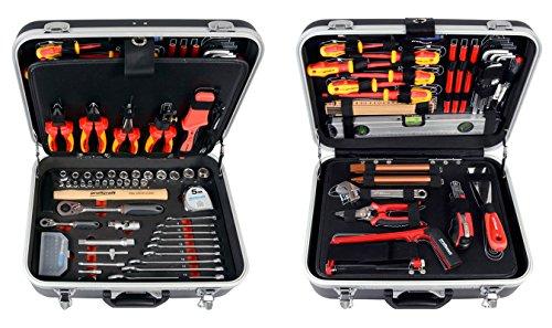 Projahn 8683 Werkzeugkoffer ELEKTRO 128-tlg.,...