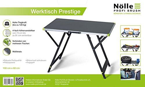 NÖLLE PROFI BRUSH 70170 Werktisch Prestige,...