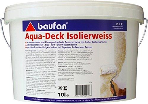 Baufan Aqua-Deck Isolierweiss 10l