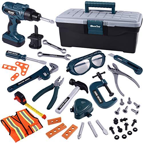 iBaseToy Werkzeug Box Spielwerkzeug...