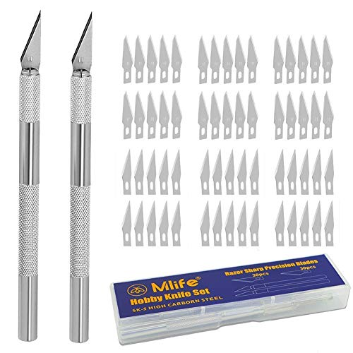 Mlife Precision Carving Craft Messer Set 60...