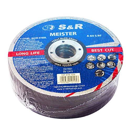 S&R Trennscheibe für Metall, Stahl,...