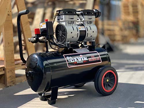 Cevik Pro24silenc Leiser Kompressor, tragbar,...