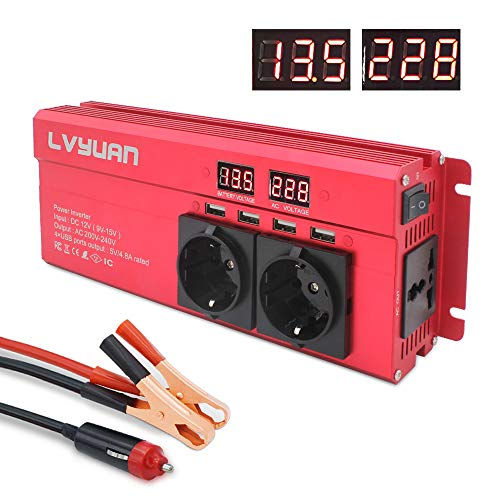 Spannungswandler 12V 230V 1000W...