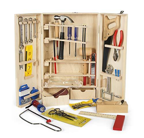 Leomark Deluxe Holz Werkzeug für Kinder -...