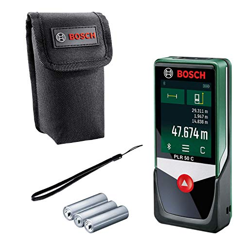 Bosch Laser Entfernungsmesser PLR 50 C...