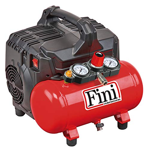 FINI SILTEK S/6 leiser Kompressor 2 Manometer...
