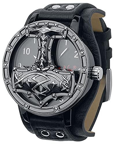 etNox Time Thors Hammer Männer Armbanduhren...