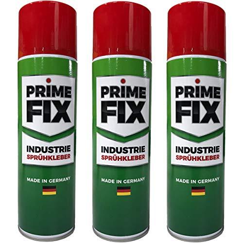 3 x Prime FIX Sprühkleber - Industriekleber...