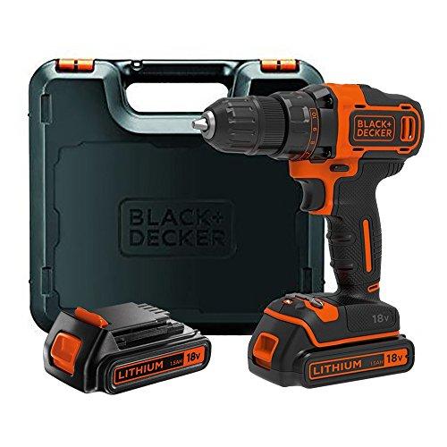 Black+Decker Akku-Bohrschrauber (mit 2-Gang...