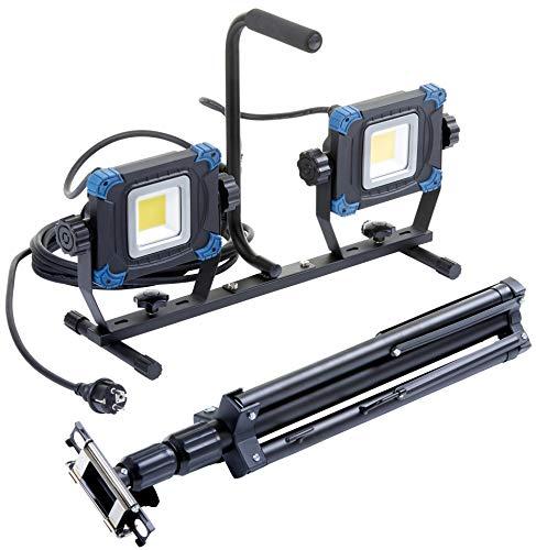 Northpoint LED Baustrahler mit ausziehbarem...