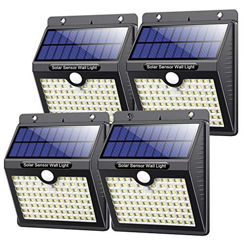 Solarlampen für Außen mit...