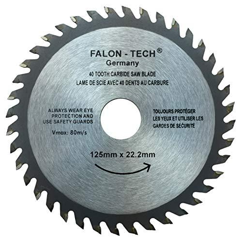 Falon Tech 125 mm 40 Zähne Kreissägeblatt...