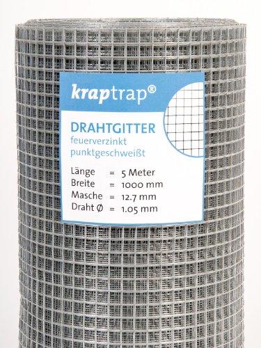kraptrap® Volierendraht Käfigdraht...